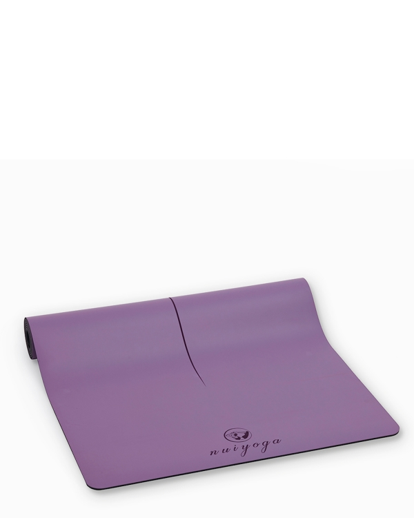 NUI YOGA Ma'at Design Kaydırmaz 5 mm Mor Yoga & Pilates Matı