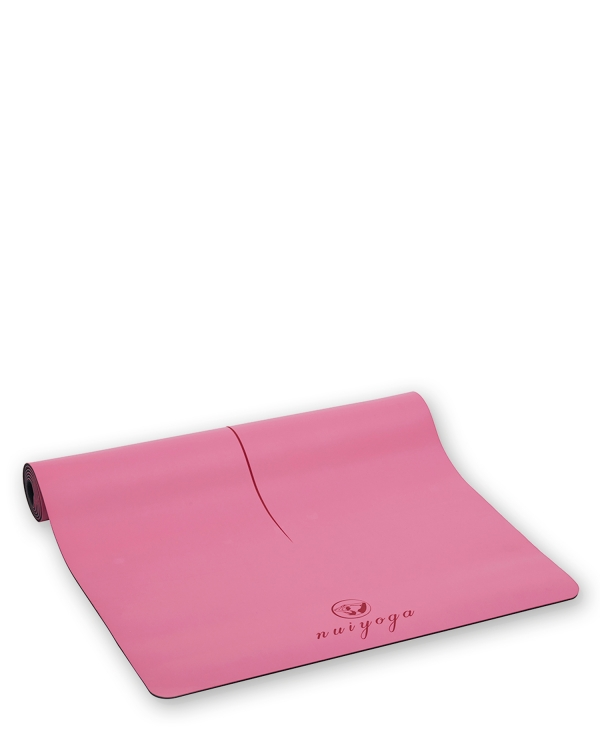 NUI YOGA Ma'at Design Kaydırmaz 5 mm Pembe Yoga & Pilates Matı