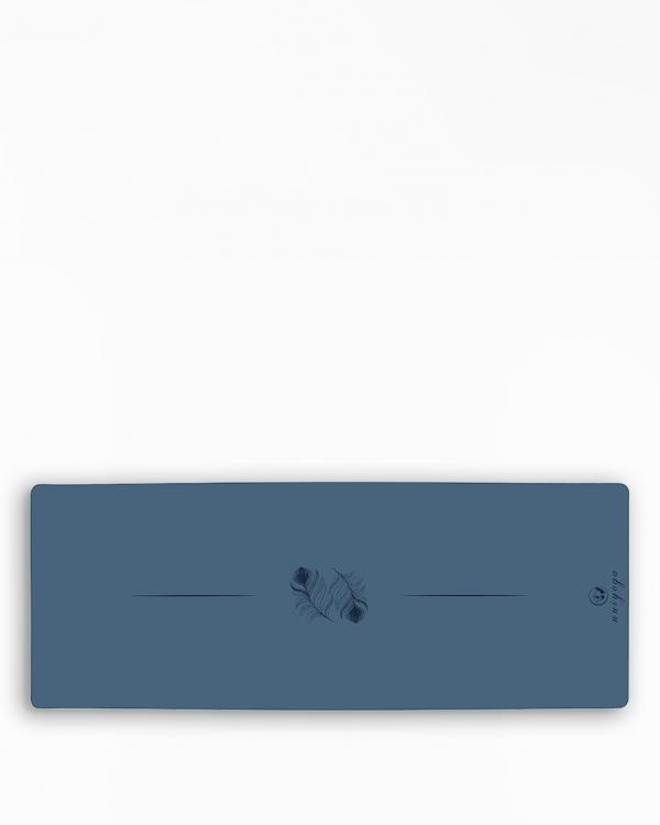 NUI YOGA Ma'at Design Kaydırmaz 5 mm Mavi Yoga & Pilates Matı