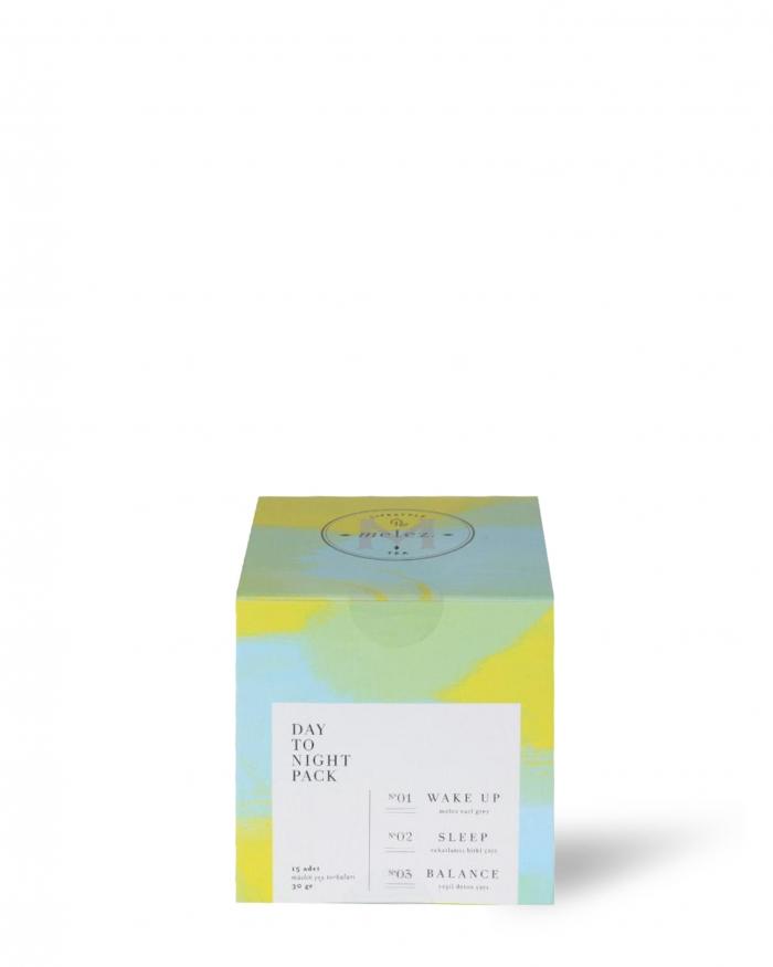 MELEZ TEA Melez Day To Night Tea - Poşetli Kutu