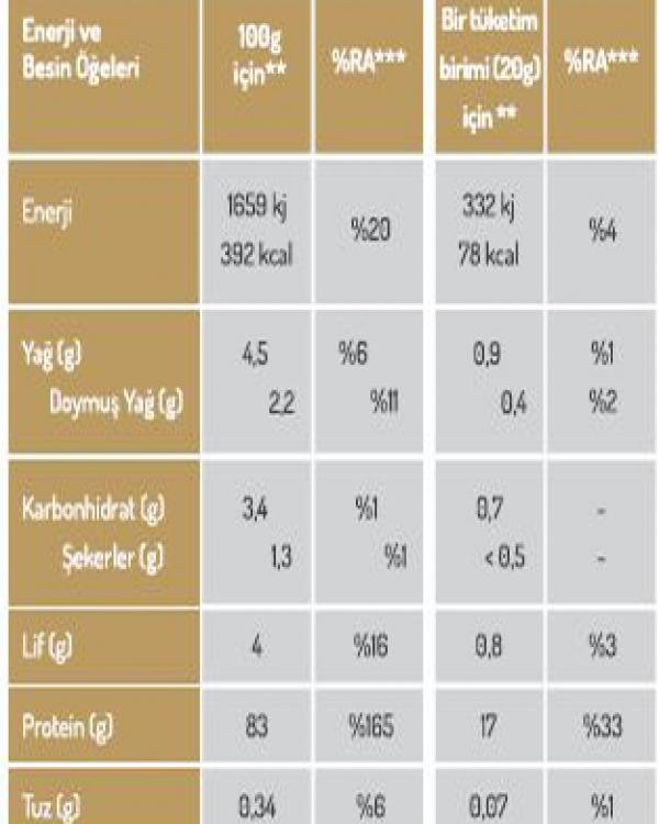 NATURIGA Organik Pirinç Proteini Tozu 100 Gram