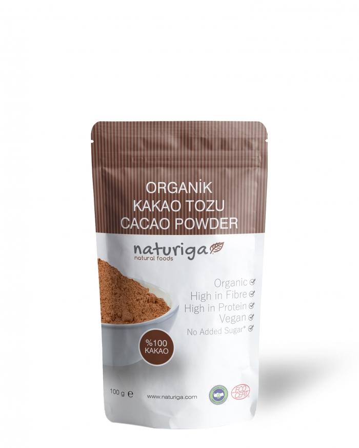 NATURIGA Organik Kakao Tozu 100 Gram