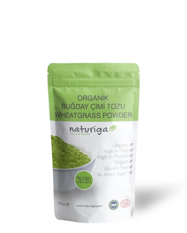 NATURIGA Organik Buğday Çimi Tozu 100 Gram