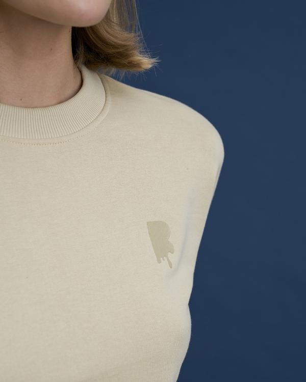 A HIDDEN BEE Puff Out Sweatshirt