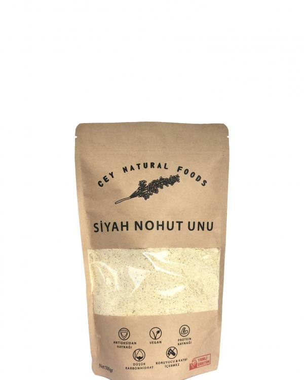 CEY NATURAL FOODS Siyah Nohut Unu 500 Gram