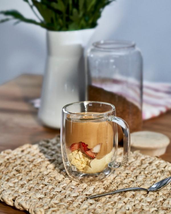 ZWILLING Çift Camlı Kulplu 2'li Espresso Bardak Seti