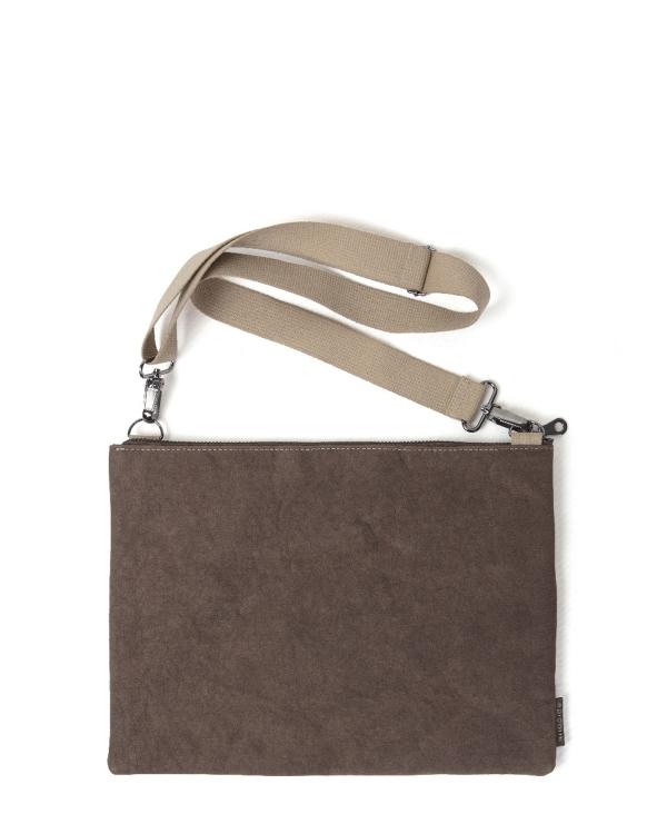EPIDOTTE Laptop Case - Brown