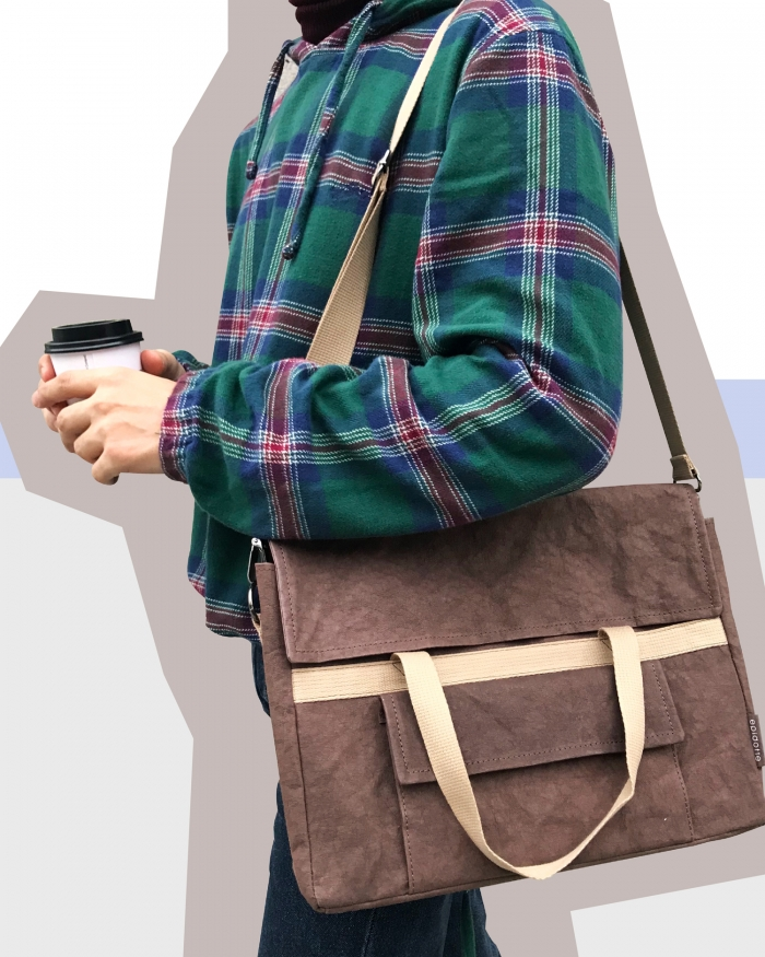 EPIDOTTE Carry Bag - Brown