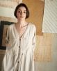 A HIDDEN BEE Maxi Shirt Dress