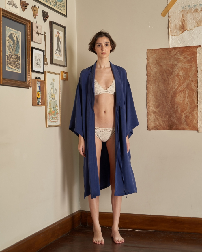 A HIDDEN BEE Kimono Duster Dress