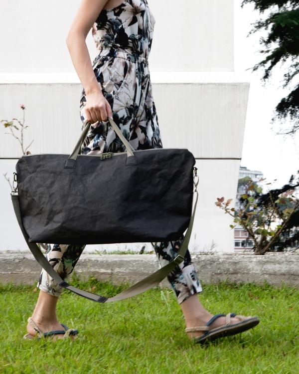 EPIDOTTE Weekender Bag - Black