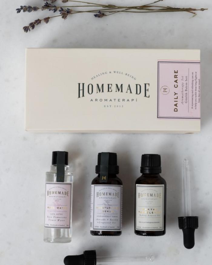 HOMEMADE AROMATERAPİ Aromaterapik Bakım Seti