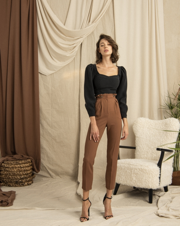 HIP+HAPPEN Maya Bluz - Siyah