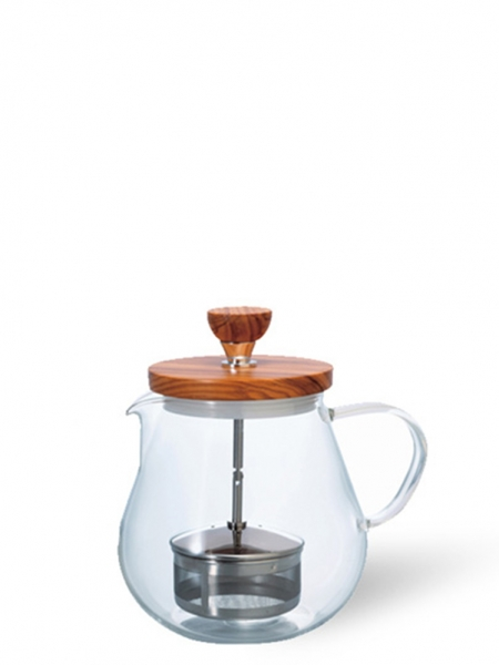 "HARIO  Hario Pull-Up Tea Maker ""Teaor Wood"" - 700 ml"