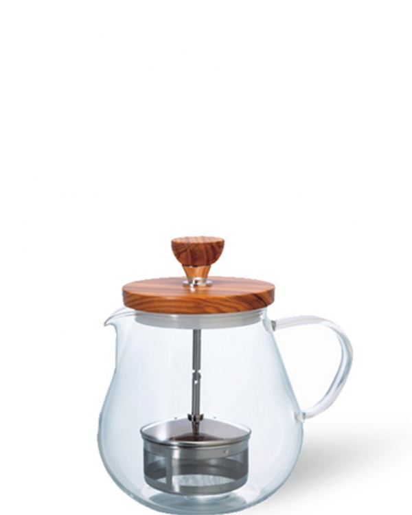 "HARIO Hario Pull-Up Tea Maker ""Teaor Wood"" - 700 ml"