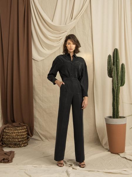 HIP+HAPPEN  Tosca Pantolon - Siyah
