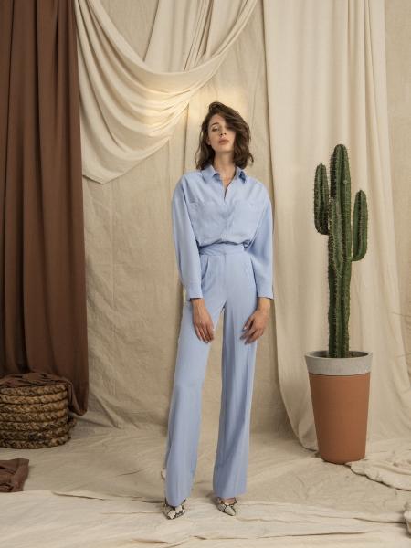 HIP+HAPPEN  Tosca Pantolon - Mavi