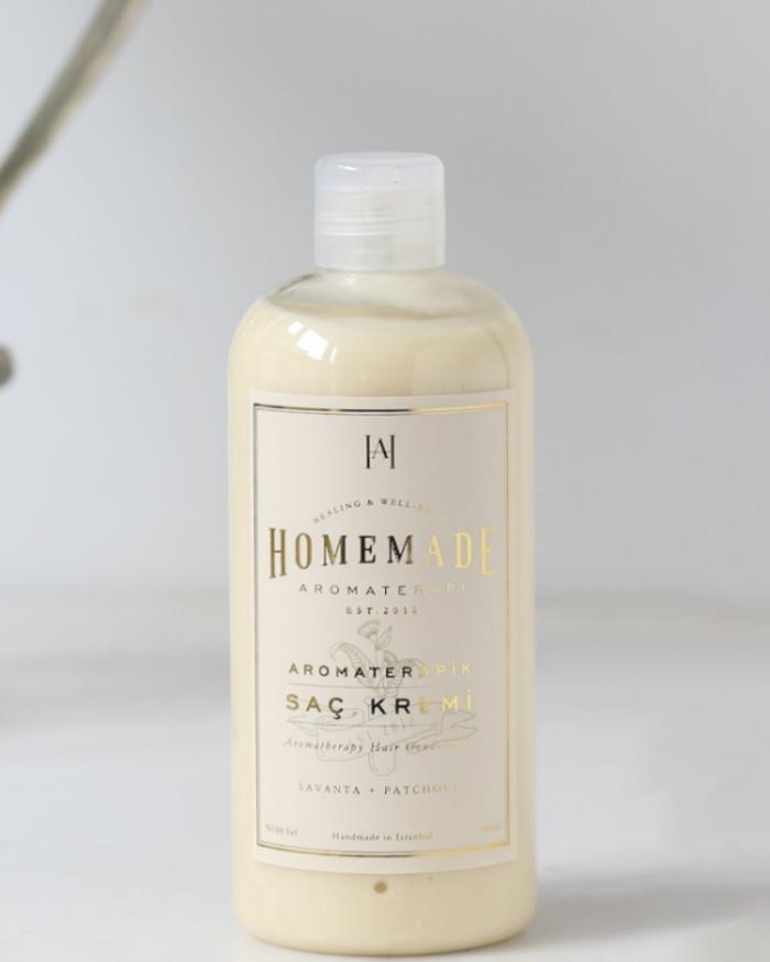 HOMEMADE AROMATERAPİ Aromaterapik Saç Kremi - 400 ml