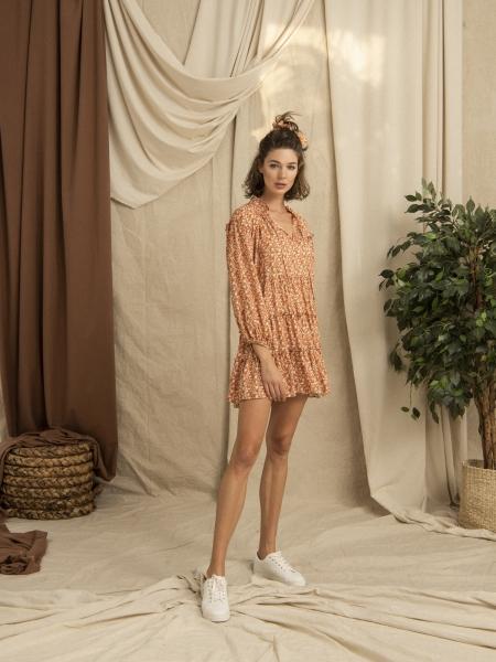 HIP+HAPPEN  Lila Elbise - Oranj
