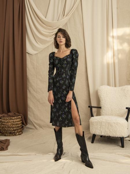 HIP+HAPPEN  Lisa Elbise - Siyah