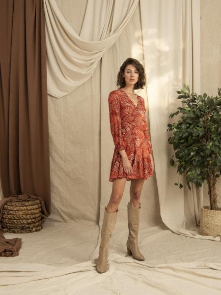 HIP+HAPPEN  Amelia Elbise - Kırmızı