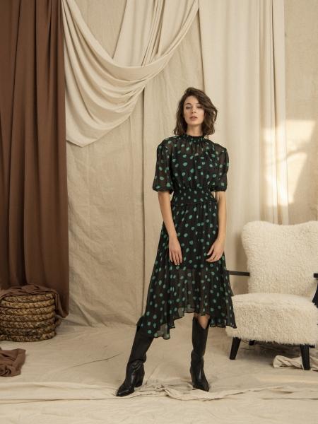 HIP+HAPPEN  Eleanor Elbise - Yeşil
