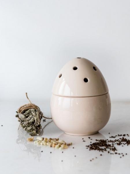 HOMEMADE AROMATERAPİ  Yumurta Tütsülük