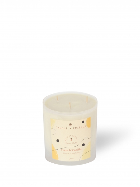 CANDLE+FRIENDS  No.1 French Vanilla Cam Mum - Large