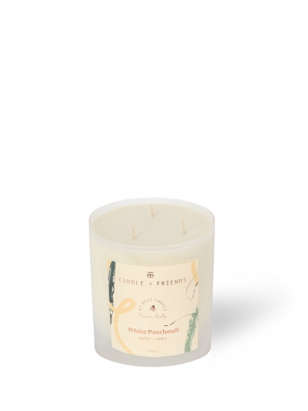 CANDLE+FRIENDS  No.4 White Patchouli Cam Mum - Large