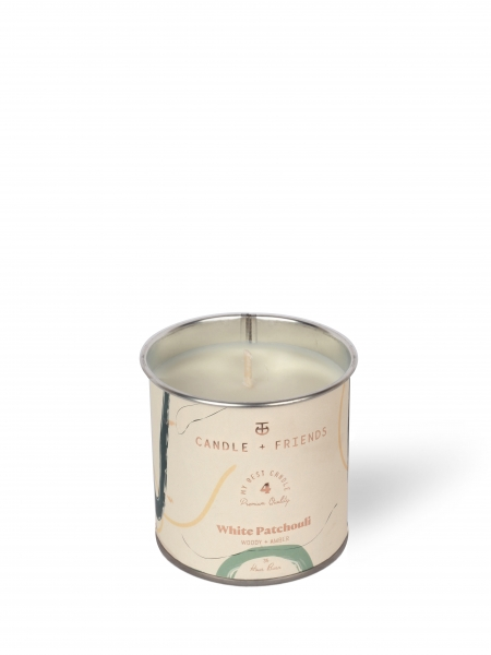 CANDLE+FRIENDS  No.4 White Patchouli Teneke Mum