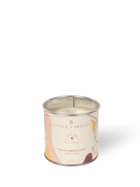 CANDLE+FRIENDS  No.5 Moroccan Leather Teneke Mum