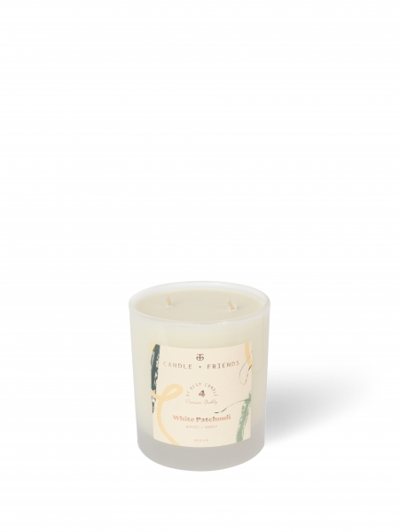 CANDLE+FRIENDS  No.4 White Patchouli Cam Mum - Medium