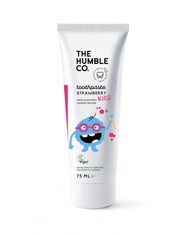 HUMBLE BRUSH Humble Toothpaste For Kids Strawberry - 75 ML