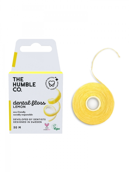 HUMBLE BRUSH  Dental Floss Lemon - 50 M