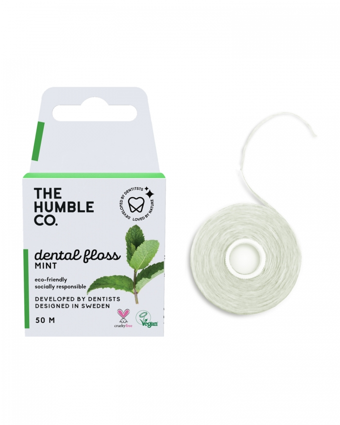 HUMBLE BRUSH Dental Floss Mint - 50 M