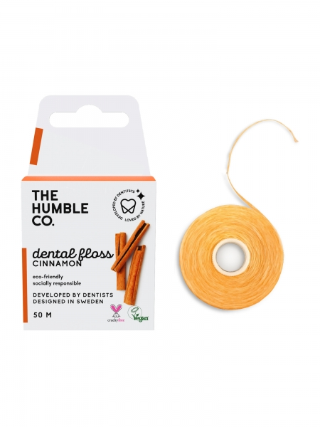 HUMBLE BRUSH  Dental Floss Cinnamon - 50 M