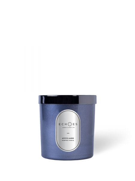 ECHOES CANDLE & SCENT LAB.	  Mystic Amber Kokulu Çift Fitilli Mum