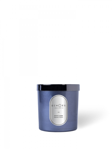 ECHOES CANDLE & SCENT LAB.	  Mystic Amber Kokulu Ahşap Fitilli Mum