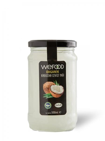 WEFOOD  Wefood Organik Hindistan Cevizi Yağı 300 GR