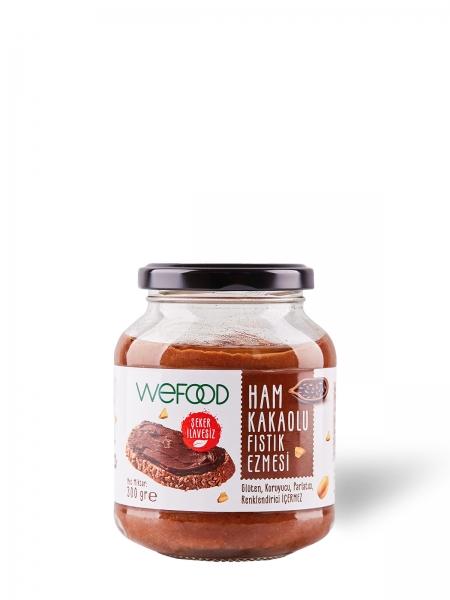 WEFOOD  Wefood Ham Kakaolu Fıstık Ezmesi 300 GR