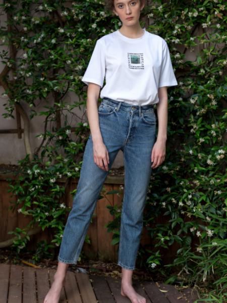 A HIDDEN BEE  Artist Collaboration Flaw Perfection T-Shirt