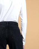 A HIDDEN BEE High Waist New Boyfriend Jeans