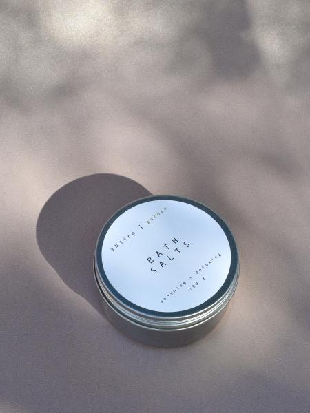 ABTIRA GARDEN  Bath Salts | rahatlatıcı + arındırıcı banyo tuzları