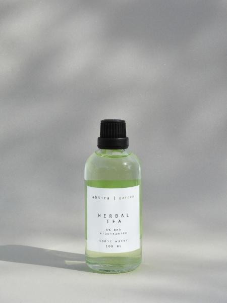 ABTIRA GARDEN  Herbal Tea | %5 BHA + %5 niasinamid | sebum dengeleyici + cilt tonu eşitleyici yüz tonik