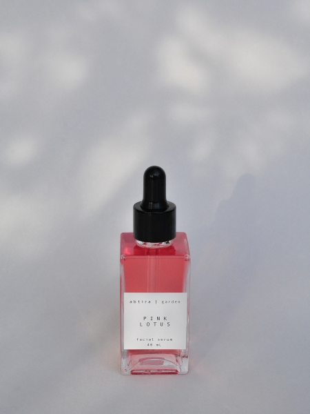 ABTIRA GARDEN  Pink Lotus | nemlendirici | yaşlanma karşıtı yüz serumu | tüm cilt tipleri