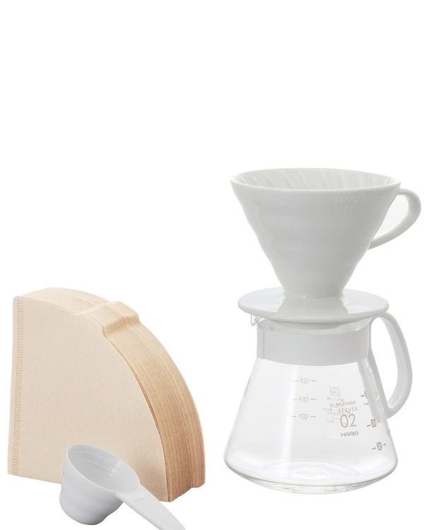HARIO Hario V60 02 Seramik Kahve Demleme Seti