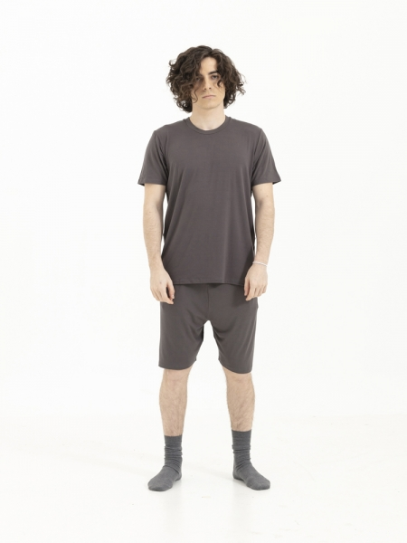 SENSESSENTIALS  Balance Şort- Dark Grey