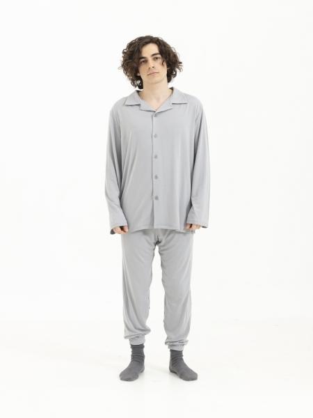 SENSESSENTIALS  Balance Gömlek - Light Grey