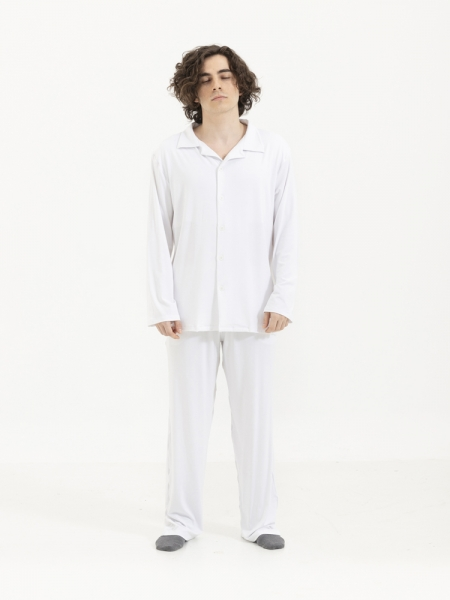 SENSESSENTIALS  Balance Pantolon - Beyaz