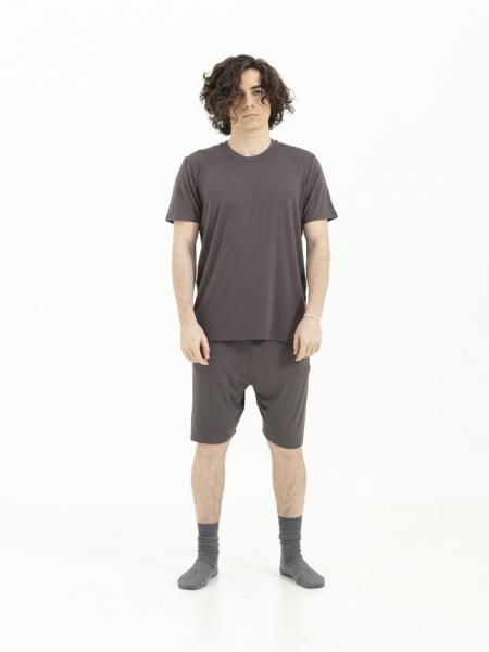 SENSESSENTIALS  Balance Tişört - Dark Grey
